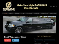 Fabulouslimousines.ca - Luxury Vancouver Limo & Party Bus Services