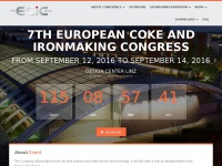 Ecic2016.org - ECIC 2016 | 7th European Coke and Ironmaking Congress