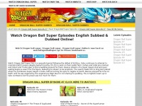 Watchdbs.xyz - Watch Dragon Ball Super English Subbed and Dubbed Online