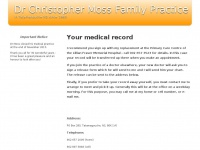 Drmoss.ca - Your medical record | Dr Christopher Moss Family Practice