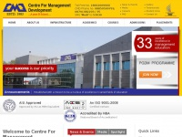 Cmd.edu - Welcome to Centre For Management Development