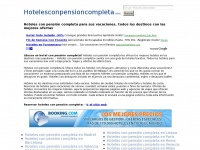 hotelesconpensioncompleta.com