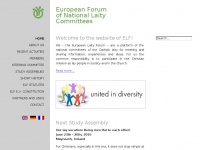 Europ-forum.org - Home - European Forum of National Laity Committees