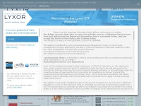 Lyxoretf.no - Lyxor ETFs - Home | Lyxor Norway