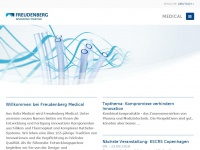Freudenbergmedical.de - Welcome to Freudenberg Medical | Freudenberg Medical EU EN