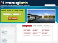 Stayinluxembourg.net - Luxembourg Hotels - Book your hotel in Luxembourg
