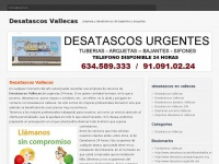 Desatascos Vallecas 【634.589.333】【 ECONOMICOS 】