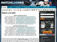 Watchlivenhl.tv - Watch Live NHL Hockey Online On Your Laptop, Desktop, Iphone, Ipad and all smartphone devices in High quality.