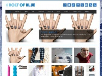 Aboltofblue.net - A Bolt of Blue | Art, fashion, decor, and all things interesting!