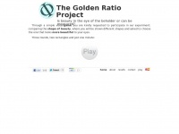 goldenratioproject.org