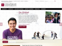 Chapman.edu - Chapman University | A Top Private University in California