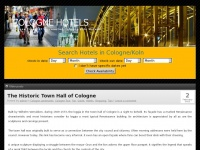 Stayincologne.net - Cologne Hotels - Book Your Hotel in Koln Online