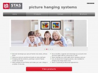 Picturerail.in - Picture rail - STAS picture hanging systems