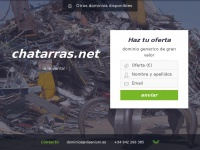 Se vende dominio chatarras.net
