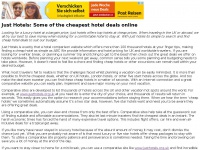 Justhotels.org.uk - Just Hotels: Cheap hotel prices UK & Worldwide. Find Cheap Hotel Deals Online with Just Hotels