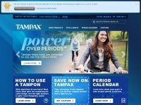 Tampax.co.uk - TAMPAX tampons & period advice