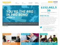 Taprootfoundation.org - Building capacity through pro bono service | Taproot