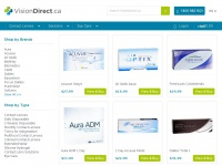 Visiondirect.ca - Contact Lenses | Contact Lenses Canada | Vision Direct  | Vision Direct