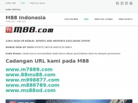 M88s.org - M88 Indonesia – M88 Links – M88 Asia