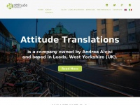 Attitudetranslations.co.uk - Andrea Alvisi – Professional Interpreter and Translator | Attitude TranslationsHome - Andrea Alvisi - Professional Interpreter and Translator | Attitude Translations