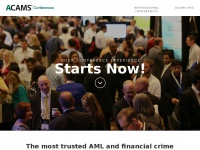 Acamsconferences.org - ACAMS Conferences International AML Conferences | ACAMS