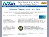Aaans.org - Area Agency On Aging   Serving Napa & Solano Counties