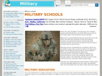 Aboutmilitaryschools.org - Military schools, boot camps and military academies