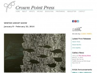 Crownpoint.com - Crown Point Press