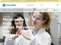 Convatec.com.ar - A global medical products and technologies company, with leading market positions in ostomy care, wound therapeutics, continence and critical care, and infusion devices.