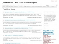 Jodohkita.info - PR 4 Social Bookmarking Site - Your Source for Social News and Networking
