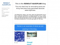 Alkorplan.info - RENOLIT ALKORPLAN2000/3000 are high range swimming pool reinforced membranes with a protective lacquer –  RENOLIT ALKORPLAN is the most used liner in the world for refurbishment and for liner new swimming pools