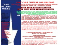 Chat Chileno online - chatear con gente de chile