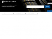 Tyres-online.sg - Tyres Price Comparison - Find Cheap Tyres Online on Tyres.net