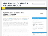 Gibsonslodgings.us - Gibson's Lodgings of Annapolis