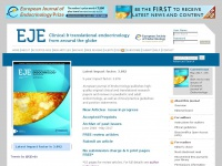 Eje-online.org - European Journal of Endocrinology, publishing clinical and translational research in adult and paediatric endocrinology