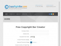 Copyrightbar.com - DMCA.com Website Protection Pro