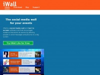 iWall - Social Media Wall and Text to Screen for events