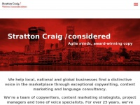 Strattoncraig.co.uk - Copywriting & Content Strategy Agency Based in London & Bristol
