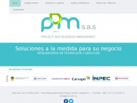 Pbm.com.co - Inicio - Project and Business Management - PBM S.A.S. - 2017