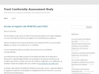 Tcab.es - Trust Conformity Assessment Body | Audit, Assessment, Testing and Certification of technological environments