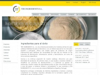 Teringredients.es - TER INGREDIENTS S.L. - Chemical Distribution and Trading of Raw Materials
