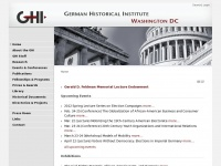 Ghi-dc.org - GHI | German Historical Institute Washington DC