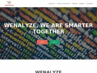 We know your customers – Wenalyze costumers analytical tool