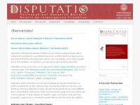 Disputatio | Philosophical Research Bulletin