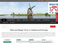 Boat Bike Tours | Discover Bike and Barge Tours