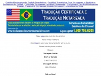 Certified Portuguese to English Translation