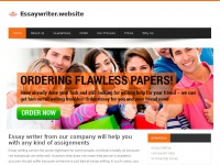 Essaywriter.website - Essay writing is not a problem with help from our essay writer
