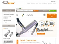Weh.se - Quick connects WEH - CNG / H2 Refuelling Components