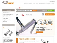 Weh.dk - Quick connects WEH - CNG / H2 Refuelling Components
