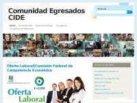 comunidadegresadoscide.wordpress.com